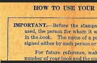 How to Use Your Ration Book, front