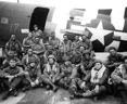 Archival photograph of Chalk 17 pathfinder team