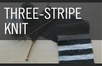 Pattern 1 - Three-Stripe - Knit