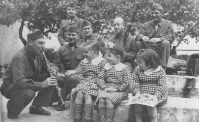 Soldiers with Children