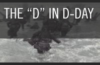 The D in D-Day