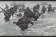 American soldiers on D-Day