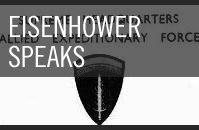 Eisenhower Speaks