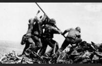 Soldiers Raising the American Flag at Iwo Jima