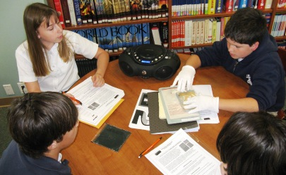 Students with Artifacts