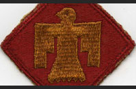 45th Infantry Division Patch