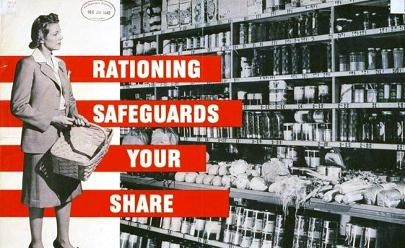Rationing Propaganda Poster