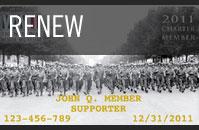Renew Charter Membership