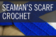 Pattern 5 -Seaman's Scarf - Crochet