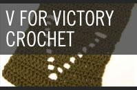 Pattern 2 - V for Victory - Crochet