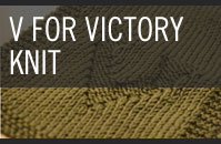 Pattern 2 - V for Victory - Knit